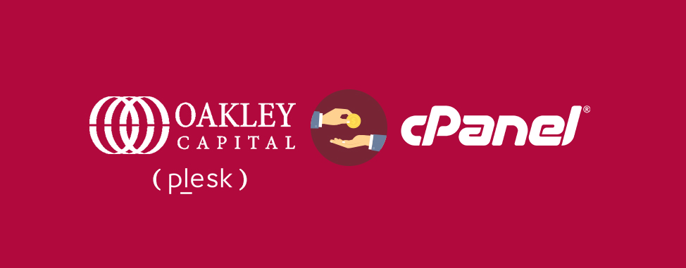 Oakley Capital (who already owns Plesk) acquires cPanel