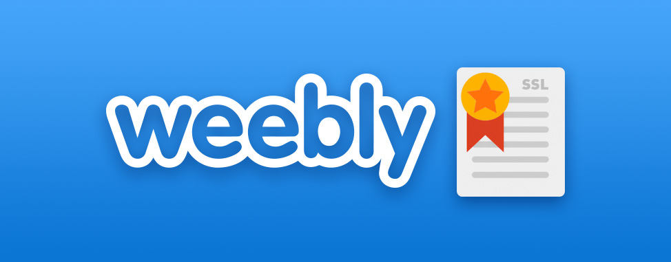 Les sites Weebly incluent maintenant SSL gratuitement!