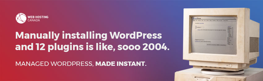 Managed WordPress, made instant